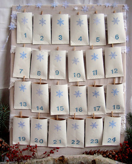Toilet Paper Roll Advent Calendar featured in Women's Day