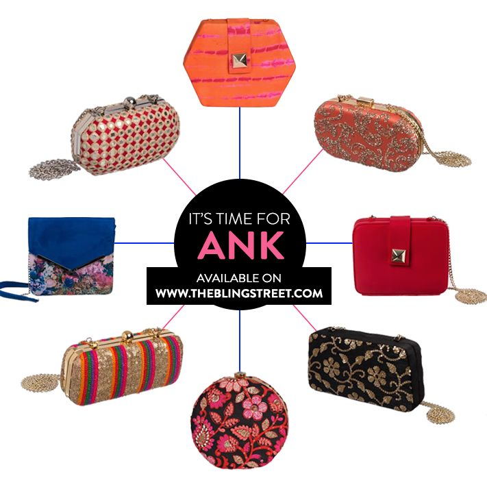 It's time for Ank - designer clutch bags.  http://www.theblingstreet.com/designers/ank