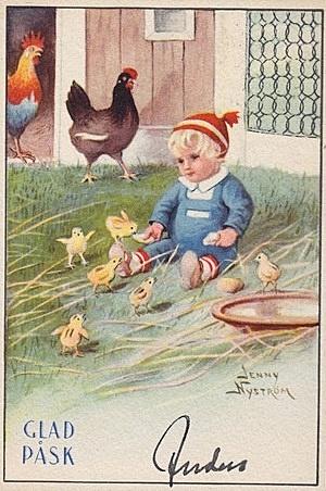 "Jenny Nystrom's ""Easter Boy"""
