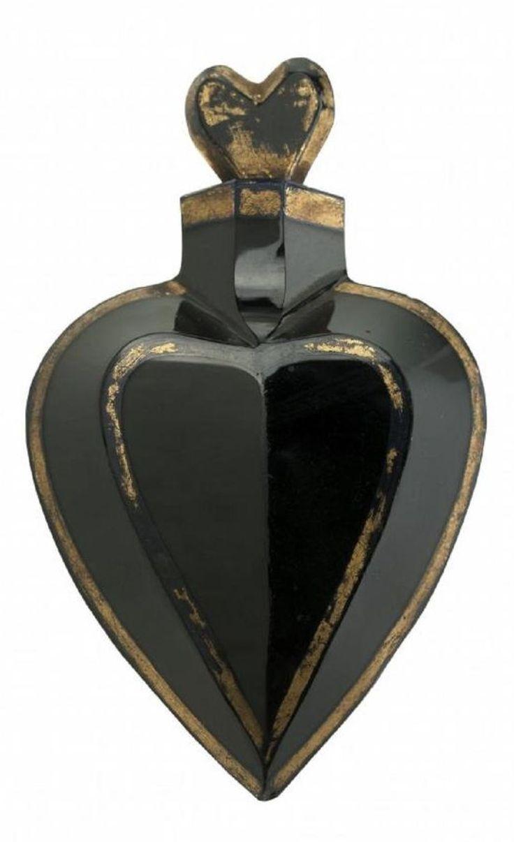 Buquoy - flacon z černého hyalitu