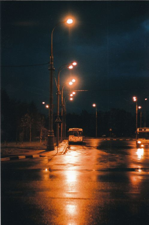 That moment you are in the silent streets at night and its so peaceful and the world seems like a beautiful place.