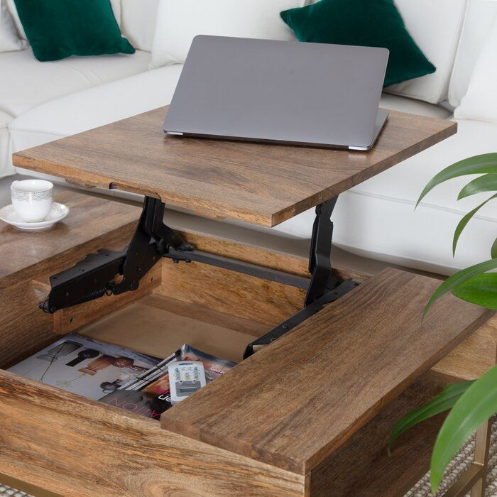 Kassidy Lift Top Coffee Table With Storage In 2020 Coffee Table Coffee Table Wood Living Room Inspo