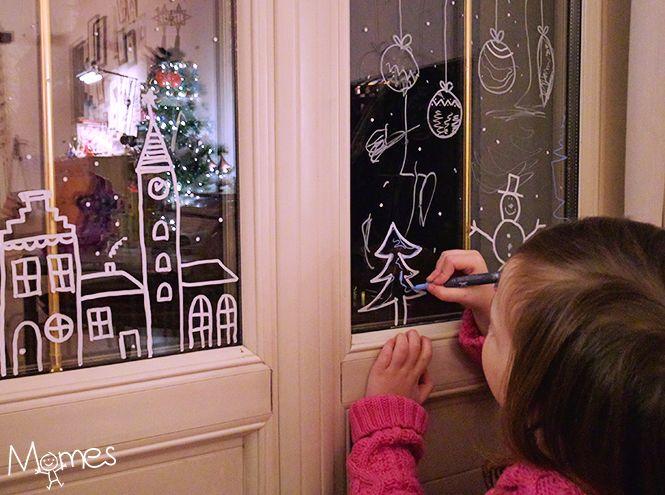 plus de 25 id es uniques dans la cat gorie decor vitre noel sur pinterest deco vitre. Black Bedroom Furniture Sets. Home Design Ideas