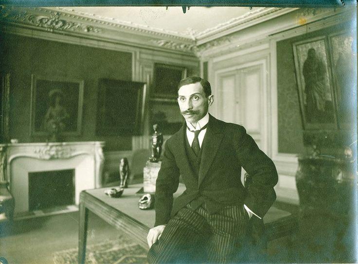 Liège - expo - Paul Rosenberg, le grand-père d'Anne Sinclair, auquel la journaliste a consacré un ouvrage ayant lui-même donné naissance à l'exposition.
