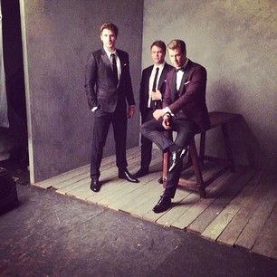 Chris, Liam, and Luke Hemsworth: | 24 Stunning Portraits From The Vanity Fair Oscar Party. Oh, the Hemsworth brothers.