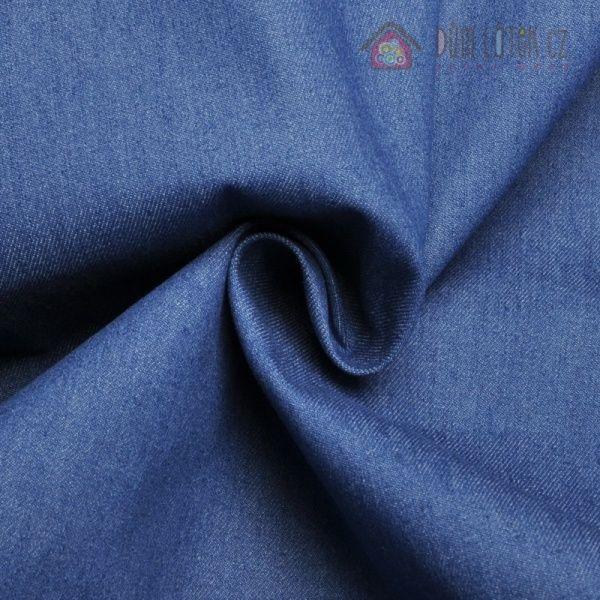 Džínovina modrá silnější | Džínovina barevná silnější | Důmlátek.cz - látky a metráž
