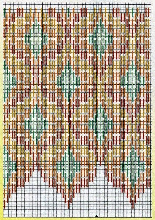 "Lovely heart things: Bargello: ""Just a few interesting schemes"""