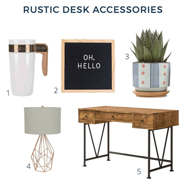 25 best ideas about rustic desk accessories on pinterest