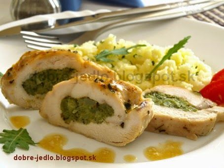 Kuracie s brokolicovým pyré - recepty