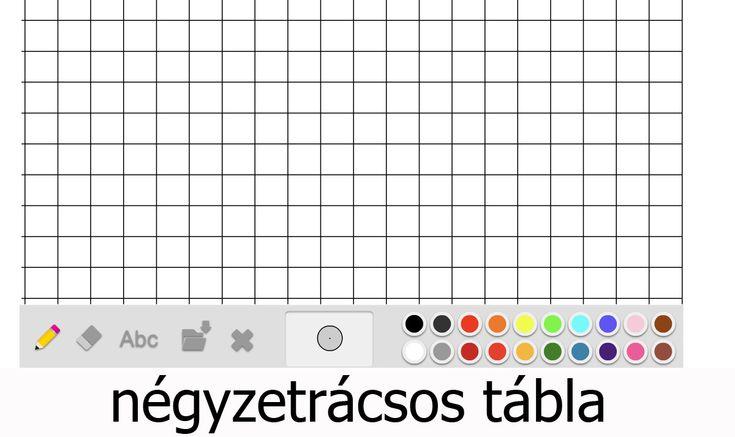 Interaktív játékos feladatok - Táblák