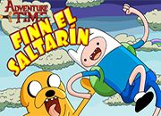Hora de aventura Finn el Saltarin | juegos adventure time - hora de aventura