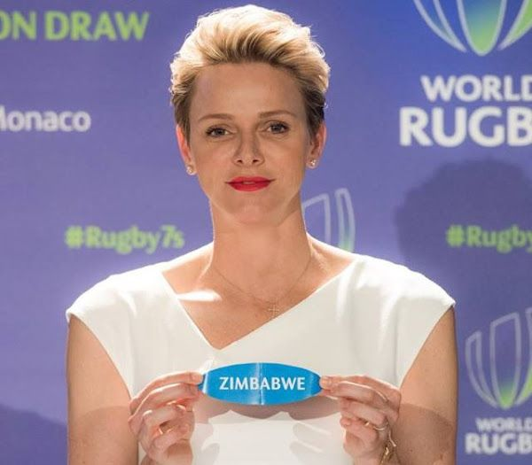 May 23, 2016 - Prince Albert and Princess Charlene of Monaco attended the drawing of lots for the men's and women's global repechage events to determine the final qualifiers for Rio 2016 Olympic Games at the Hotel Hermitage of Monte Carlo. The repechage events will take place in Monaco (men) on 18-19 June and Dublin (women) on 25-26 June.