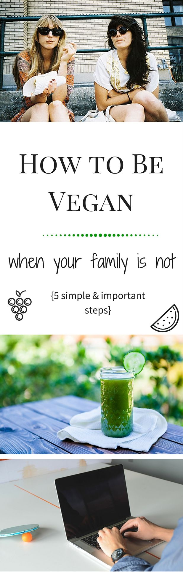 Want to go #vegan but your family isn't really supportive? Here's how to prepare and educate yourself.