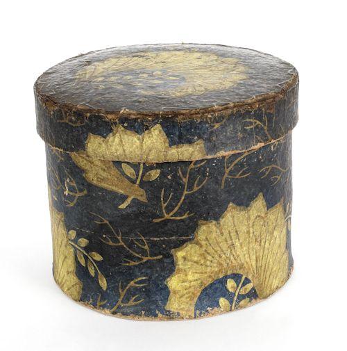 19th century wallpaper box