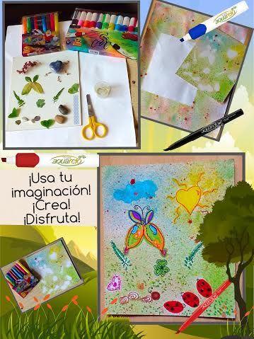 Manualidades para primavera. #manualidades #crafts  #primavera #easy DIY 2016