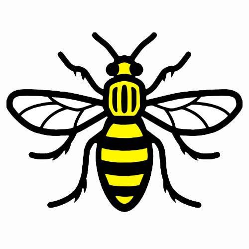 The Manchester Bee Tattoo