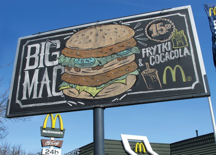 McDonald's Warsaw goes back to basics with hand-drawn chalkboard ad campaign from DDB | The Drum