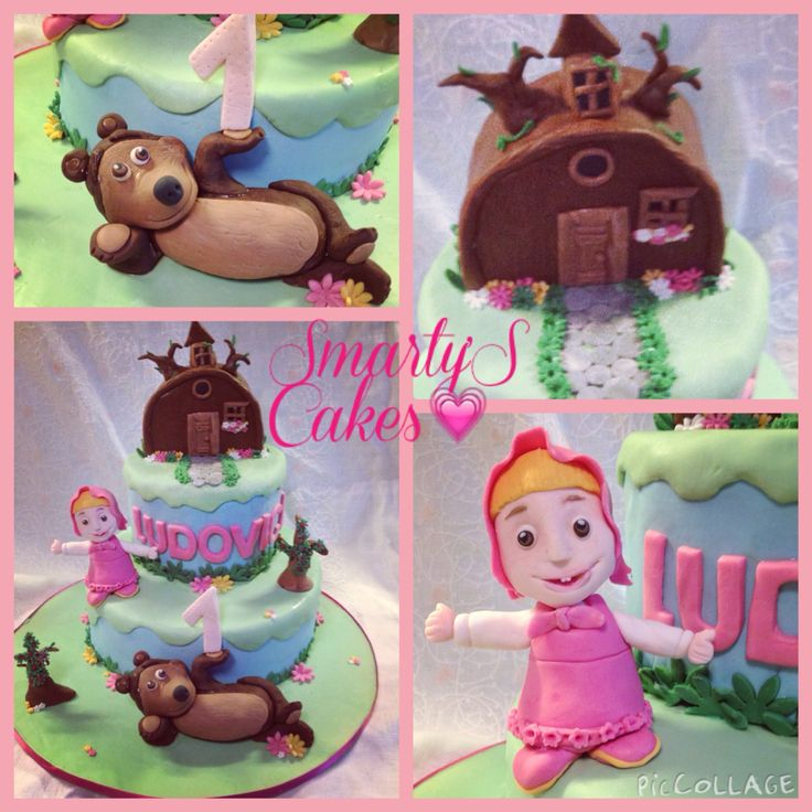 MASHA&ORSO CAKE  Smarty'S Cakes - INSTAGRAM smartyscakes FB  https://m.facebook.com/pages/SmartyS-Cakes/499207850175709