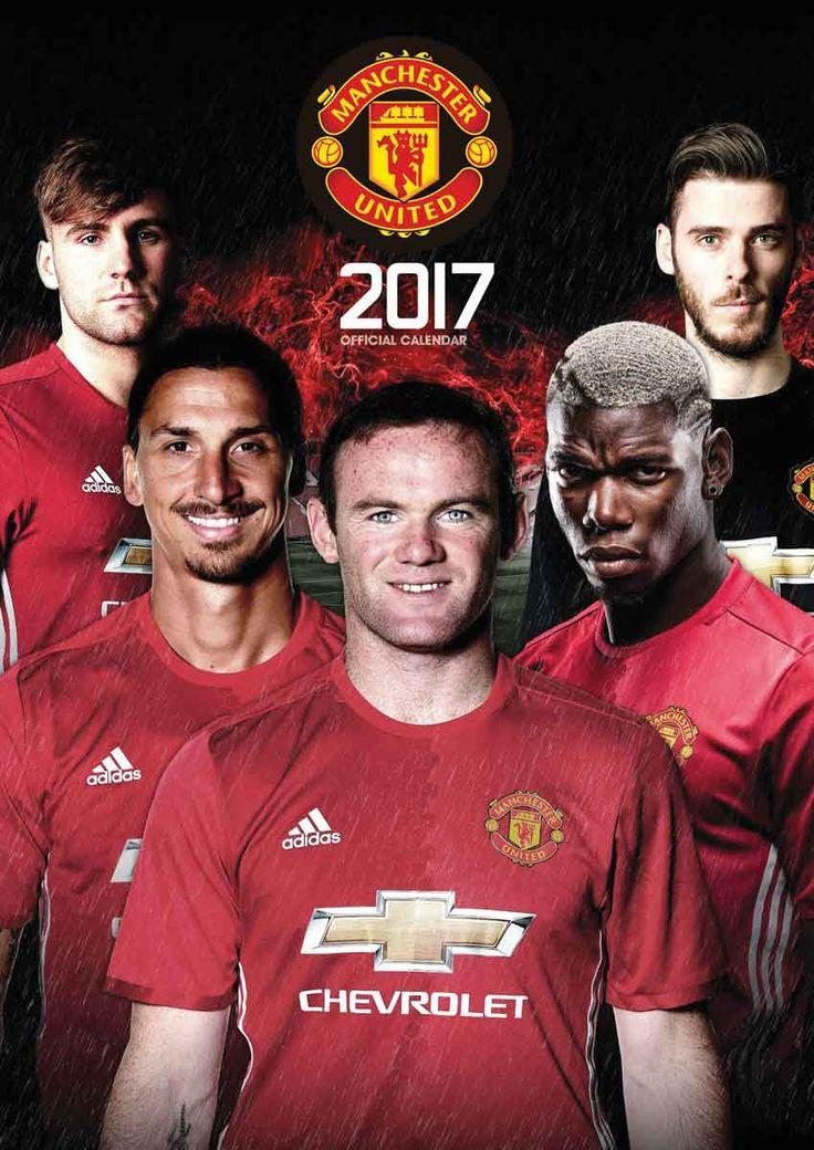 Manchester United FC A3 Calendar 2017