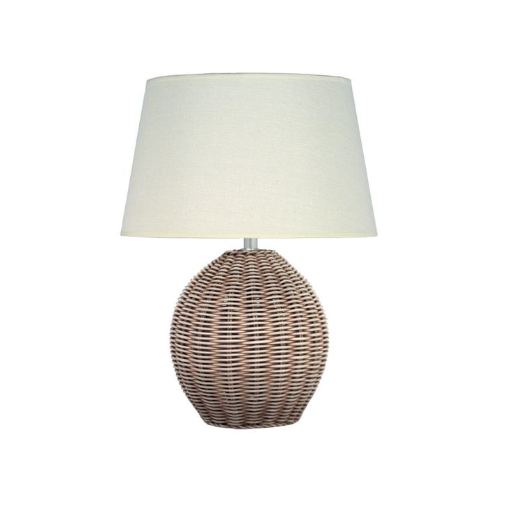 Pacific Lifestyle Raffles Cream Table Lamp