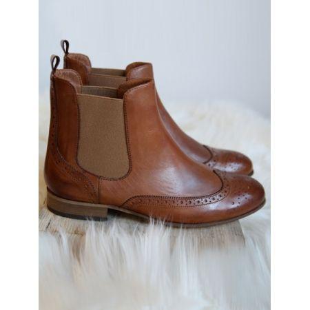 Portamento Fantasma d'amore Brown Chelsea Boots