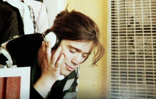 Zac listening to music. The face says it all. I make this face when listening to his voice when he sings leads.