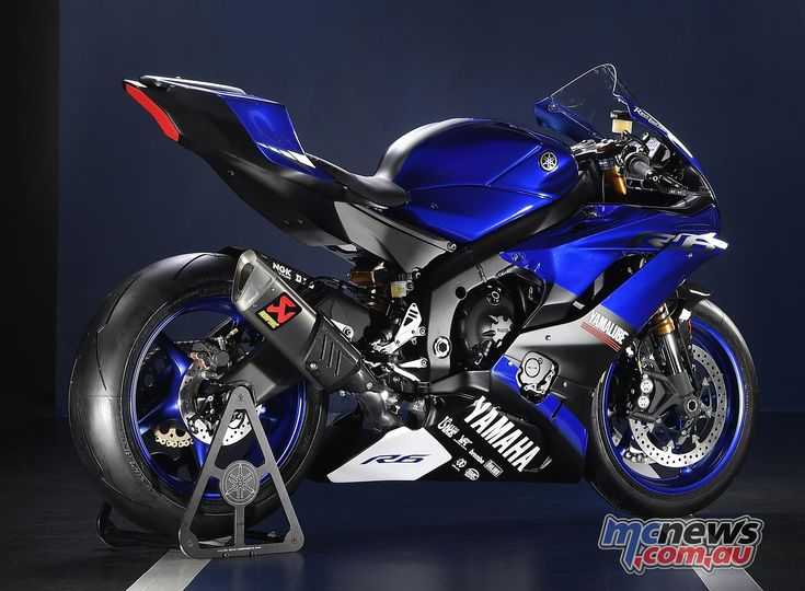 Yamaha YZF-R6 will chase glory in the 2017 FIM Supersport World Championship.