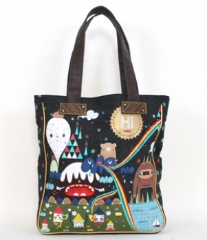 - CROWDED TEETH MOUNTAIN SCENE TOTE LOUNGEFLY OFFICIAL WEBSITE