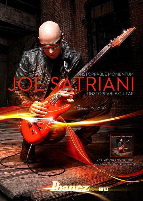 #Ibanez Joe Satriani Signature JS2410MCO #Guitar