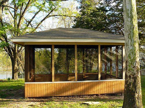 screened pavilion gazebo | Gazebo | Gazebo Plans | Gazebo Designs | Patio Covers Place