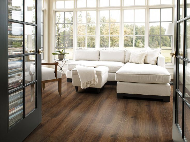 Contemporary Interior Designs Accentuating Wooden Flooring   Big Window And  White Sofa With Wooden Flooring In Living Room70 best Flooring images on Pinterest   Flooring ideas  Hardwood  . Hardwood Flooring Ideas Living Room. Home Design Ideas