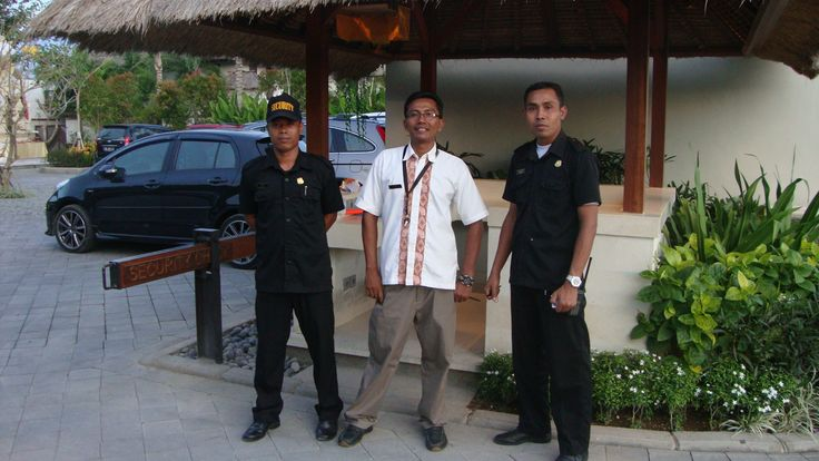 Driver and villa guards