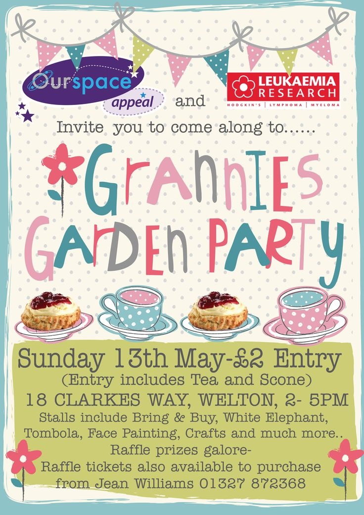 garden party posters - Google Search