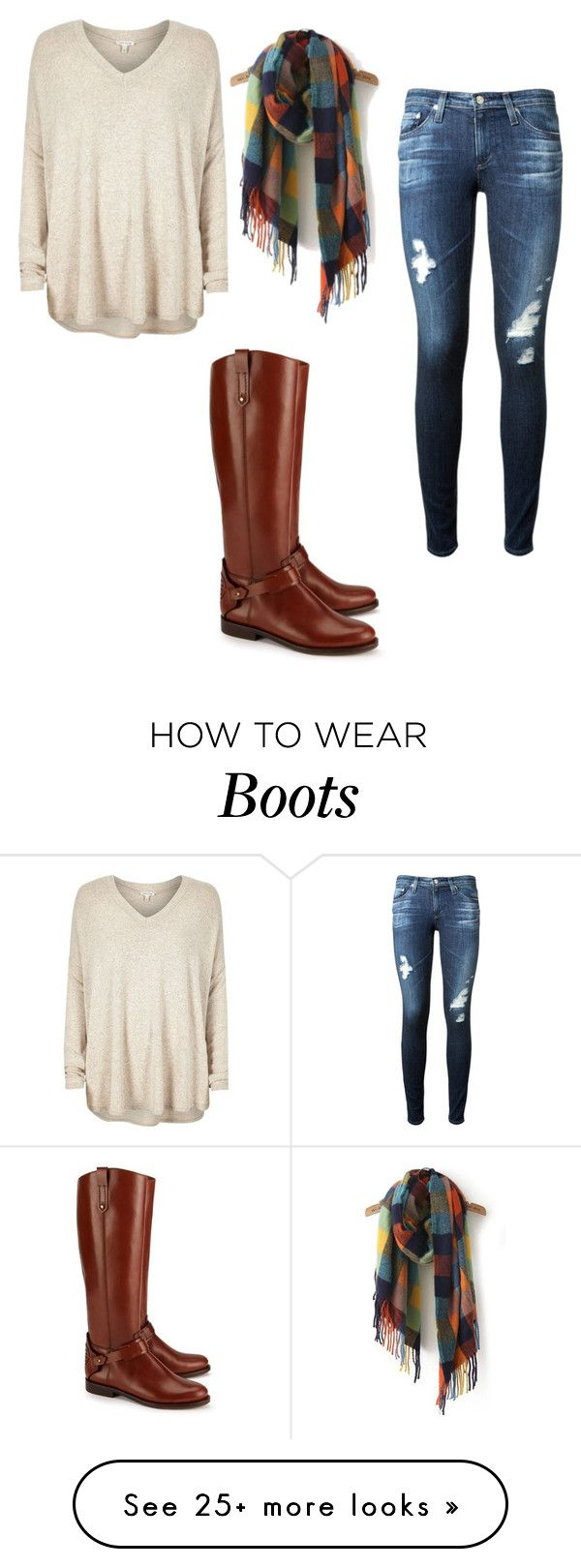 Brown boots by momo free on polyvore featuring river for Tory burch fashion island