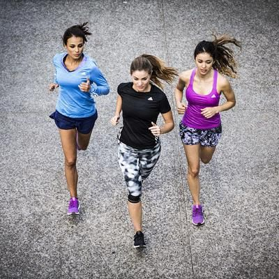 Wearing #ultraboost + running with friends = double the motivation #adidasXcovetme #adidas #covetme