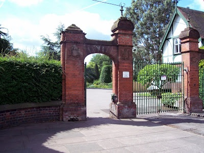 We moved to Longton Stoke-on-Trent when I was small. This is the entrance to the park there...I remember this vividly. A most beautiful park.