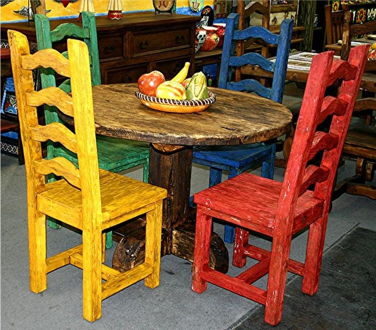 1579 best mexican decor images on pinterest mexican for Mexican furniture