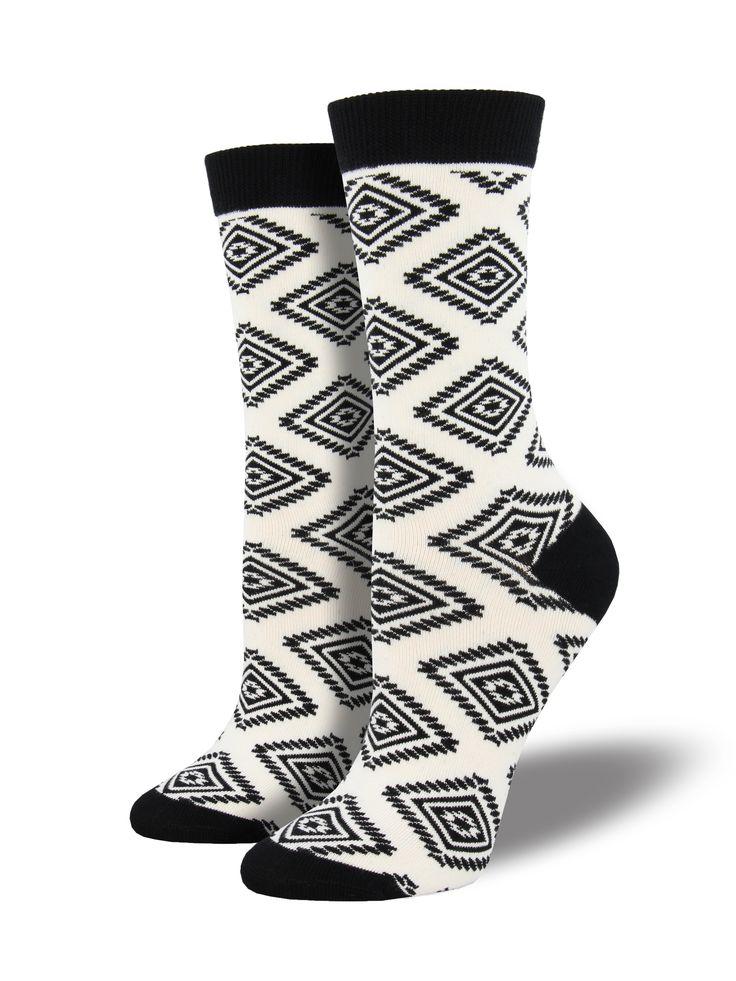 Bamboo Aztec Socks