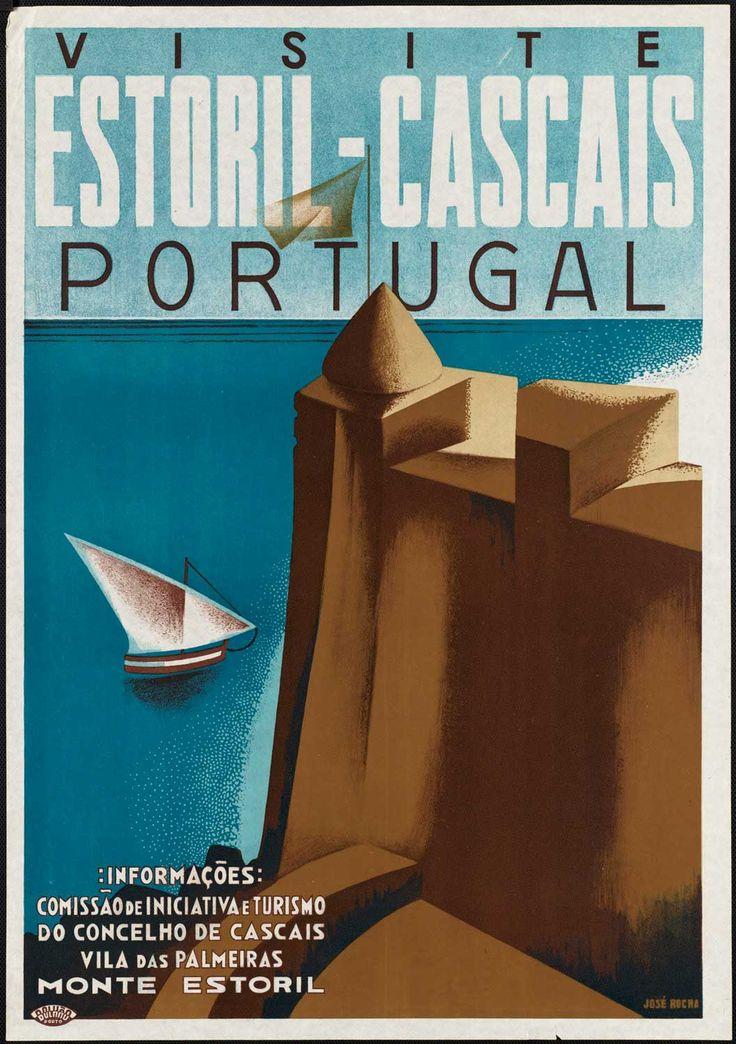 Vintage Travel Poster Portugal