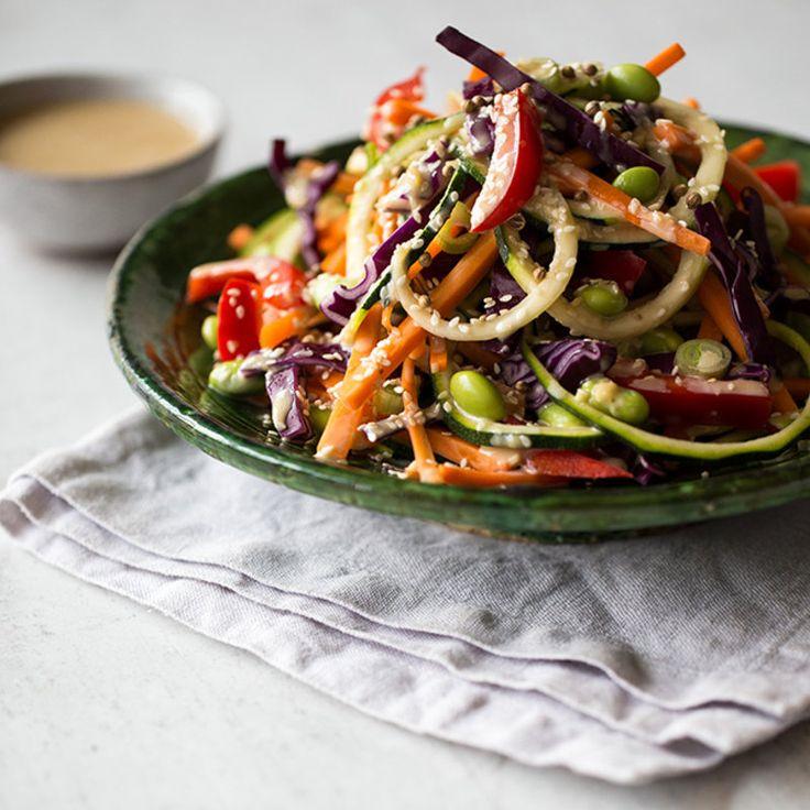 Chinesischer salat zum grillen