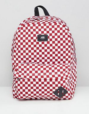 Vans Red Checkerboard Backpack  eb33a720b5