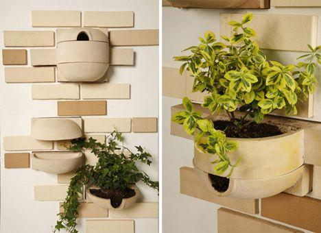 modular bricks for natural habitats