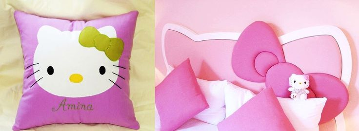 handmade pillow Hello Kitty