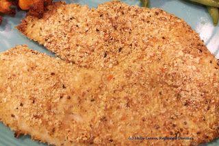 Kid friendly cooking: Breaded tilapia