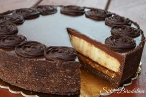 SÜTIK BIRODALMA: Karamellás-fehér csokoládés mousse torta - Sütés mentes
