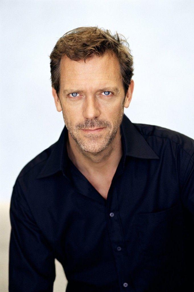 Hugh Laurie - love his eyes.