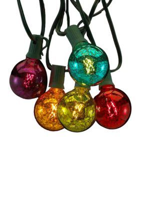 Kurt S. Adler Ul 10-Light G50 C7 Multi-Colored Novelty Light Set -  - One Size