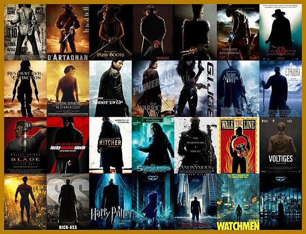 15 Popular Movie Poster Cliches | DeMilked