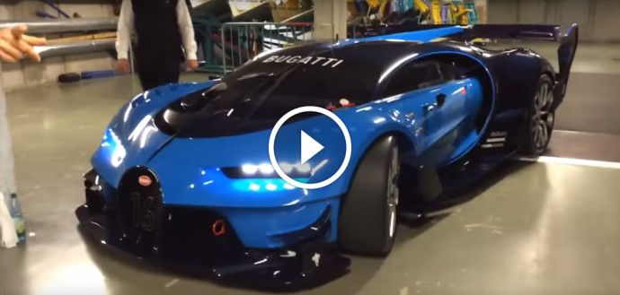 Real-Life Bugatti Vision GT Engine Sounds Monstrous ...