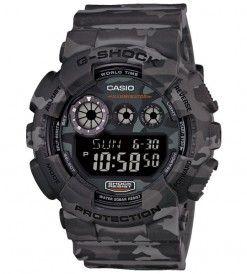 GD 120CM 8ER Grey Black CAMO Premium G Shock Watches Casio In Birmingham West Midlands G Shock Sale Casio Watches Birmingham G Shock GA 200G Premium Ltd Edition